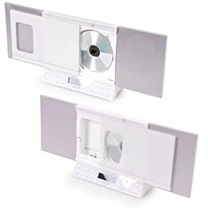 Budget  Microsystem Iphone/Ipod docking Station CD Radio USB SD MP3 Denver MCI-103 white