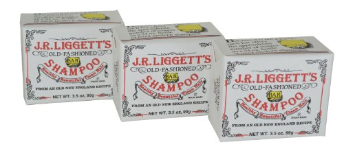 J.R Liggett Old Fashioned Bar Shampoo Original Pack Of 3 (3.5 Oz Bars) front-344542