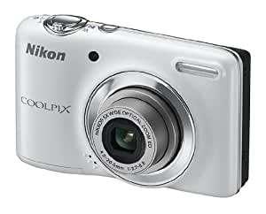 """Nikon Coolpix L24 Appareil photo numérique compact 10,1 Mpix Ecran 3"""" Zoom optique 5x Blanc"""