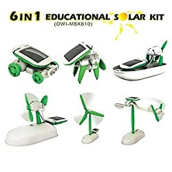6in1 Educational Solar Powered DIY Kit Toy