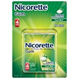 Nicorette-Nicotine Coated Gum 4mg, 190 Pieces Fresh Mint