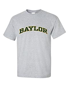 NCAA Baylor Bears Men's T-Shirt, X-Large, Gray