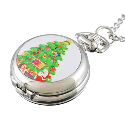 souarts-silver-tone-color-christmas-tree-pattern-quartz-analog-pocket-watch-for-children-84cm