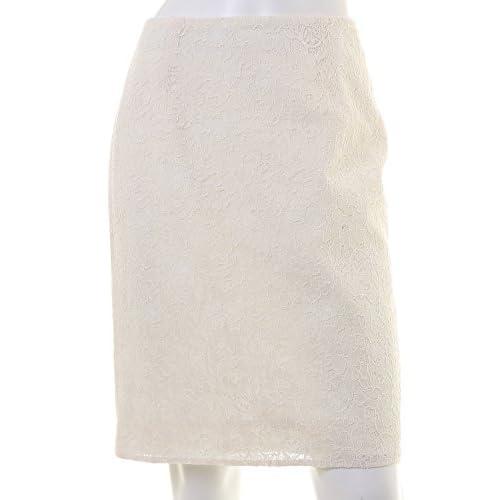 (エフデ)ef-de レース切り替えスカート オフホワイト 09
