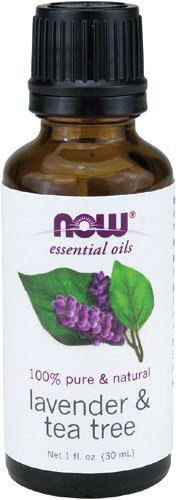 NOW Foods Lavender & Tea Tree Oil, 1 ounce