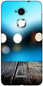 Snoogg Bokeh With Wooden Floor Designer Protective Back Case Cover For Coolpad Note 3 (White, 16GB)