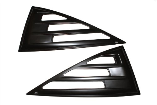Auto Ventshade 97410 Aeroshade Louvered Side Window Cover, 2 Piece
