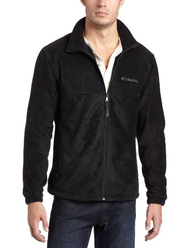 Columbia Men's Steens Mountain Sweater, Black, Large