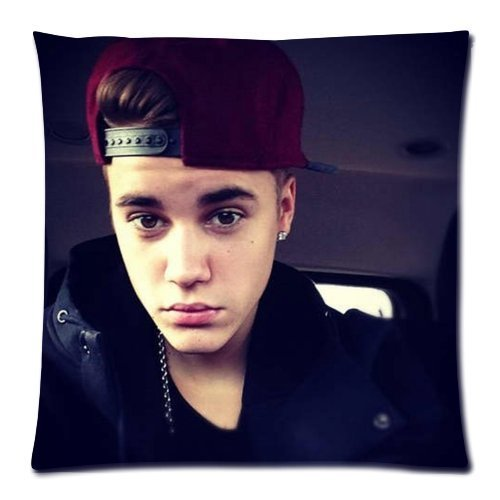Butuku Custom Justin Bieber Pillowcase Standard 18X18 (One Side) Pillow Cover Pyc-152 front-643070