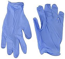 ASR Enterprises Nitrile Gloves For Lab Purpose - Pack of 100 Gloves