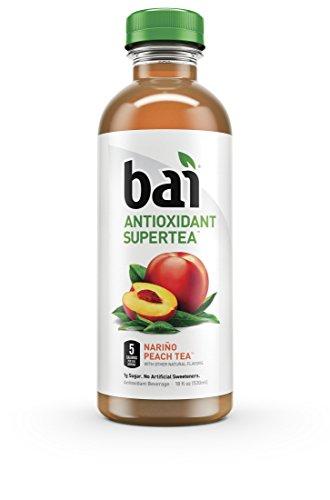 Bai5 Bai Rio Raspberry, Antioxidant Infused Tea, Supertea Rio Raspberry, 1.4 Pound (Pack of 12)