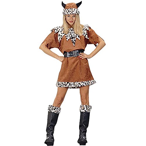 Women's Viking Queen Halloween Costume (Size:8-12)