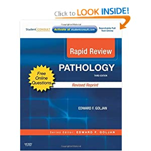Rapid Review Pathology 3rd edition PDF by Edward Goljan