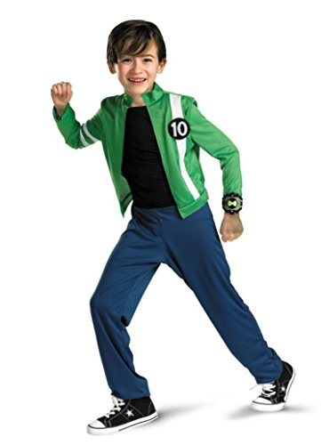 Boys Ben 10 Alien Force Classic Kids Child Fancy Dress Party Halloween Costume