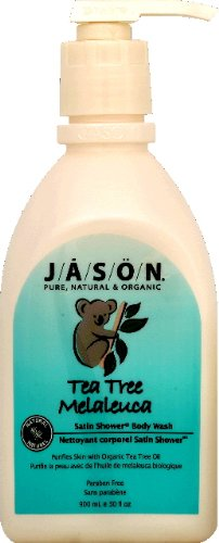 Jason Natural Cosmetics Tea Tree Satin Shower Body Washes 30 Fl. Oz. 215592