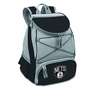 NBA Brooklyn Nets PTX Insulated Backpack Cooler by Picnic Time