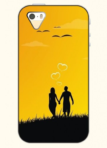 Oofit Phone Case Design With Love Between Lovers For Apple Iphone 5 5S 5G