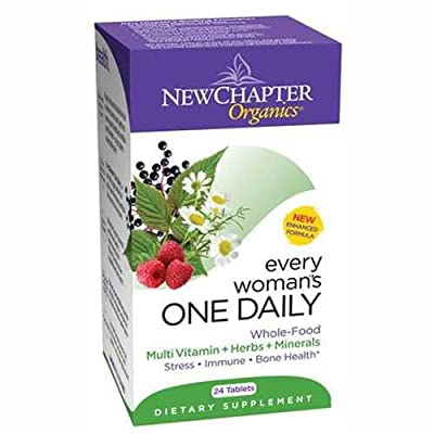 New Chapter Every Woman's One Daily Multivitamin Supplements