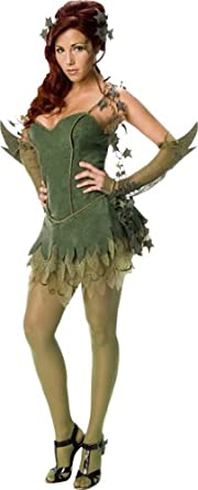 Secret Wishes Batman Poison Ivy Costume, Green, X-Small
