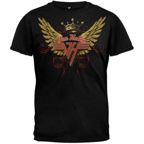 Old Glory - Van Halen - Uomo Wings T-shirt X-Large Nero