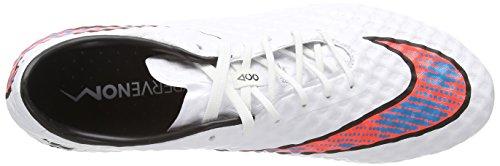 Nike Hypervenom Phantom Firm-ground, Herren Fußballschuhe, Weiß (white/bl Lagoon/ttl Crmsn/blk), 41 EU -