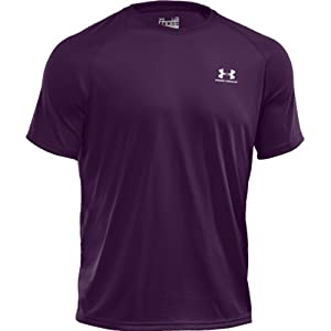 Under Armour Herren New Tech Shortsleeve Tee - Trainings-/Spielshirt Kurzarm, Größe:S;Farbe:echo/white