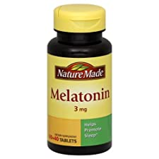 Nature Made Melatonin, 3 mg, Tablets 120 tablets