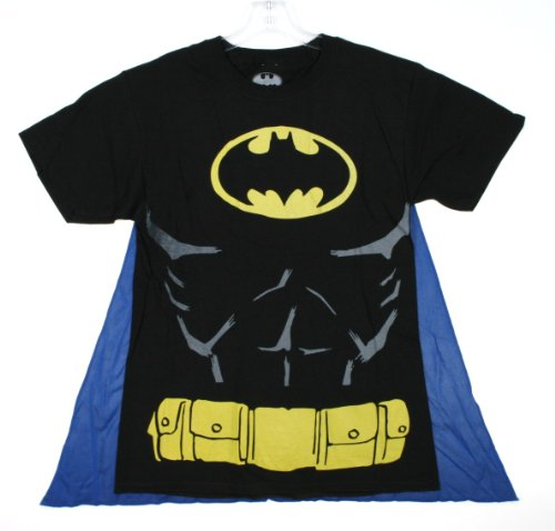 : DC Comics Batman Muscle and Cape Costume T-shirt