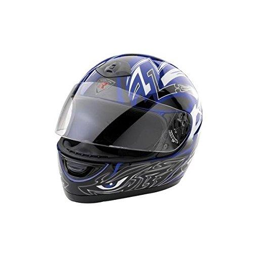 Bottari Moto 64153 Casque Viper, Noir/Bleu, Taille : XL