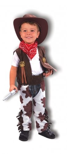 Cowboy Toddler Fancy Dress Costume - Age 3