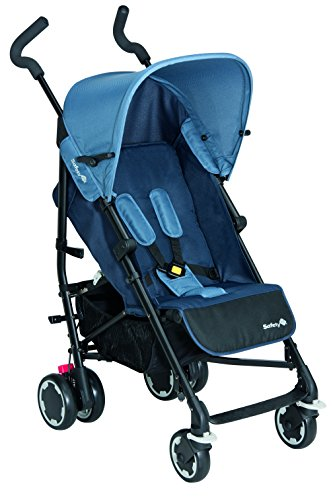 Safety 1st - Passeggino Compa'City con Salvabimbo, Plain blue, 12607672