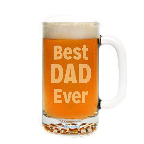 Engraved Best Dad Ever Beer Mug (Valentine Beer Mug compare prices)