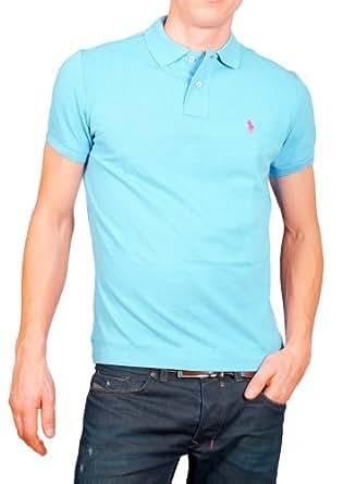 Polo Ralph Lauren - Polo - Polo de Base - Poney petit / petit Rose - Homme - (Xxl) Turquoise