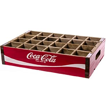 Coca-Cola® Wooden Bottle Crate