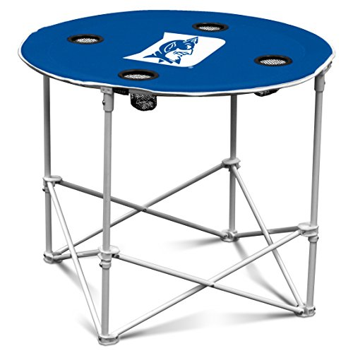 NCAA Duke Blue Devils Round Tailgating Table (Duke Blue Devils Chair compare prices)
