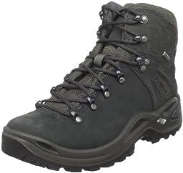 Lowa Women\'s Ronan GTX Mid Hiking Boot,Dark Grey,7 M US