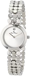 Lucien Piccard Women's LP-100006-22-S  Silver Dial Stainless Steel Watch