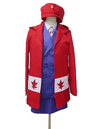 Amazon.com: Axis Powers Hetalia Meg Williams Canada Cosplay Costume