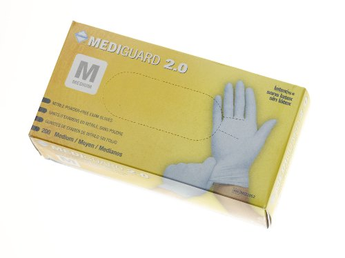Medline Mediguard 2.0 Nitrile Exam Gloves (MG2051H-Small/200 Per Box)