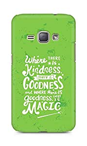 AMEZ where there is kindness there is goodness Back Cover For Samsung Galaxy J1 (2016 EDITION)