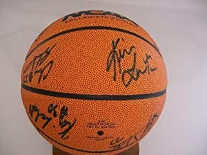 UCLA Bruins 2007-08 Team Signed Basketball #1 - PSA DNA Certified - Autographed... by Sports+Memorabilia