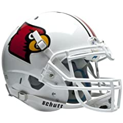 LOUISVILLE CARDINALS Schutt AiR XP Full-Size AUTHENTIC Football Helmet by ON-FIELD