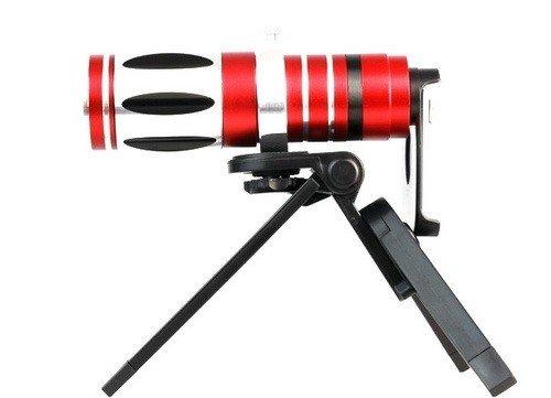 Goliton® 17X Optical Zoom Aluminum Telescope Telephoto Lens For Samsung Galaxy Note2/N7100/N7105