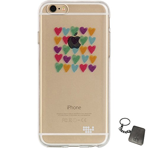 iPhone 6 Plus/6S Plus Case, Luxmo® [Ultra Slim Watercolor] Premium Semi-Transparent Crystal Clear TPU Case (Love Always)