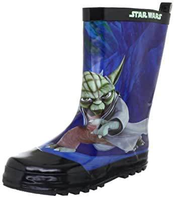 star wars rainboots sw325091 jungen stiefel schwarz black blk noir eu 27 schuhe. Black Bedroom Furniture Sets. Home Design Ideas
