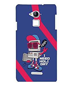 printtech Cool Computer Back Case Cover for COOLPAD NOTE 3 / COOLPAD NOTE 3 PLUS