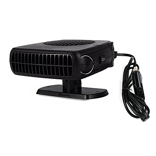 Zento Deals 2 in 1 12V Portable Swing-out Handle Heater and Defroster Fan (Plug In Boiler compare prices)