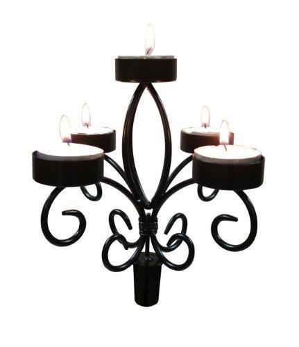 Epicureanist Kerzenhalter für Weinflasche