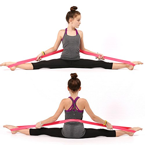 PREMIUM EXERCISE Ballet Stretch Band For Dance, Gymnastics. Improves FLEXIBILITY, STRETCHING and Helps PREVENT INJURY.! (Split Stretcher compare prices)