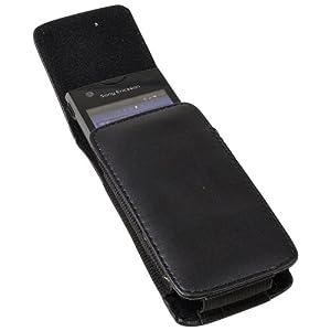 Vertikal Tasche Hülle Case Handy Tasche mit Gürtelclip und Gürtelschlaufe schwarz für Nokia 6100 8800 6300 E65 2630 6120 Classic 6500 Classic 3500 Classic 7500 Prism 6121 Classic 8800 Arte 3120 Classic 5000 5320 XpressMusic 6210 Navigator 6220 Classic 6300i 6301 7210 Supernova 7310 Supernova E66